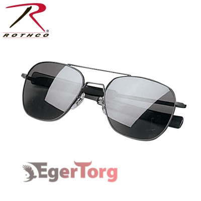 ОЧКИ ВВС США G.I. TYPE 52mm SUNGLASSES Black / Smoke