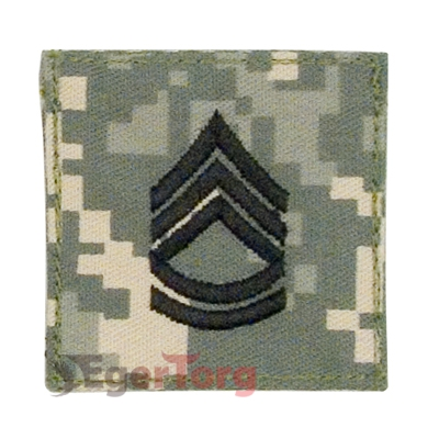 Нашивка сержанта  -  1768 ACU DIGITAL SGT FIRST CLASS INSIGNIA