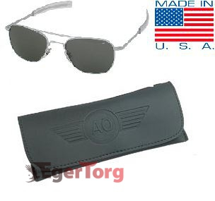 Очки American Optical Original Pilots Sunglasses 52mm Матовая Оправа