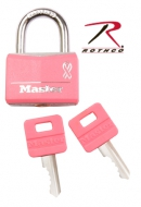 Замок навесной  -  10049 MASTER LOCK 'BREAST CANCER AWARENESS' PADLOCK