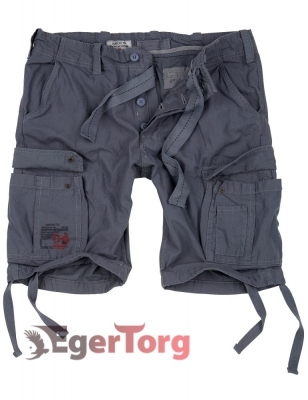 Шорты SURPLUS AIRBORNE VINTAGE SHORTS GREY