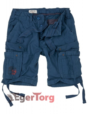 Шорты SURPLUS AIRBORNE VINTAGE SHORTS NAVY