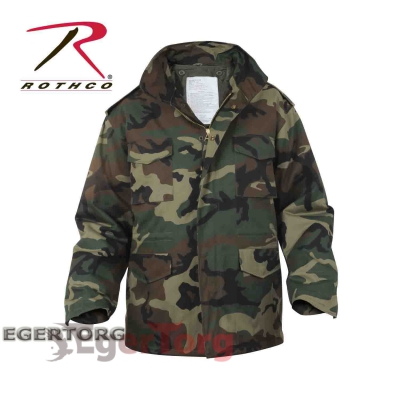 КУРТКА М-65 ROTHCO FIELD JACKET WOODLAND CAMO
