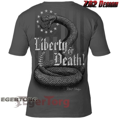 ФУТБОЛКА 'Liberty or Death' 7.62 Design Premium