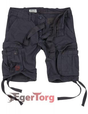 Шорты SURPLUS AIRBORNE VINTAGE SHORTS ANTHRACITE