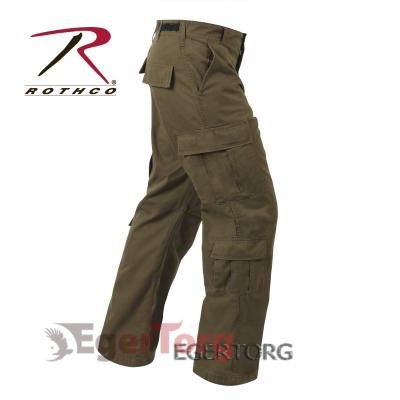 БРЮКИ КАРГО ROTHCO VINTAGE PARATROOPER FATIGUE RUSSET BROWN