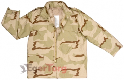 КУРТКА М-65 ROTHCO FIELD JACKET TRI-COLOR CAMO