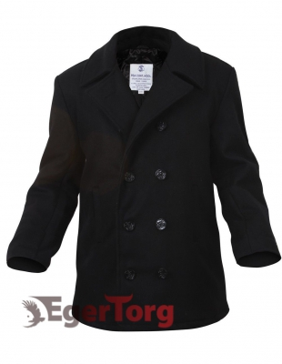 БУШЛАТ ШЕРСТЯНОЙ US NAVY PEA COAT