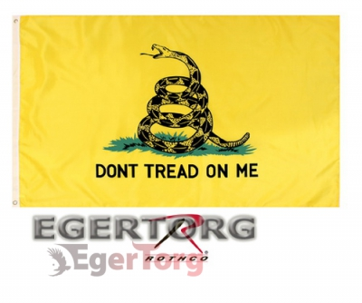 Флаг DON T TREAD ON ME