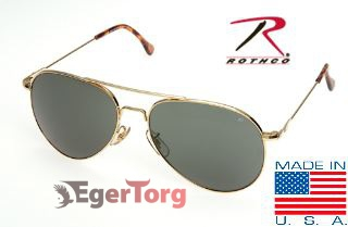 Очки American Optical General Aviator Polarized Sunglasses 58mm